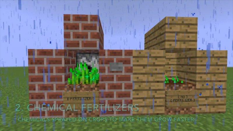 Organic Food in Minecraft