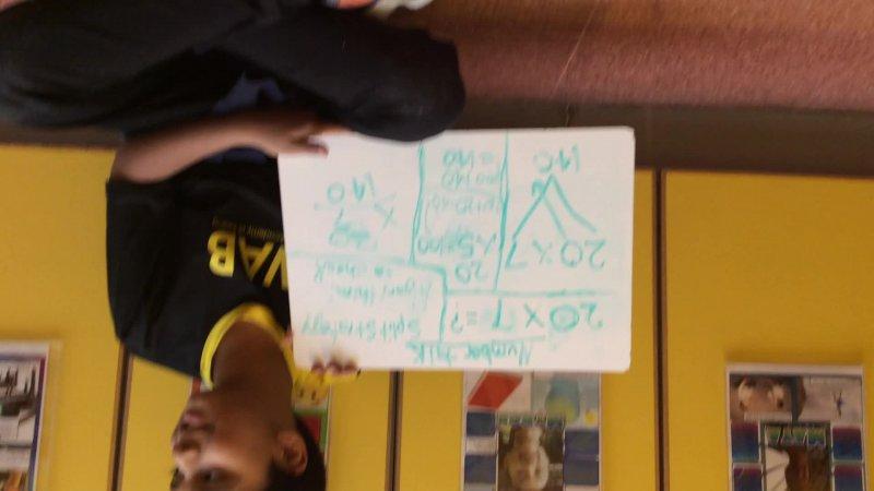 My Multiplication Number Talk