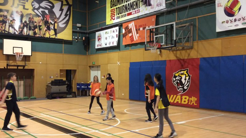 Basketball 7-1 (b)  Oliver, Sophie, Angelina vs Toby Jiaxin and Lulu