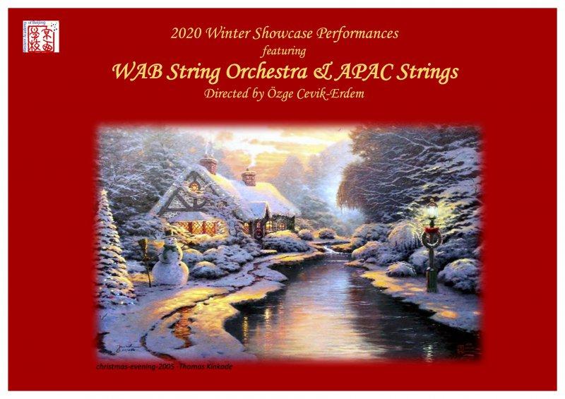 WAB Winter Showcase- String Orchestra and APAC String