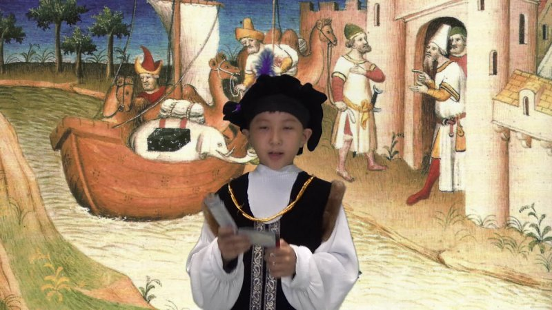 William as Marco Polo