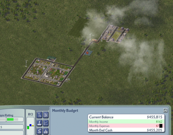 My SimCity Reflection!