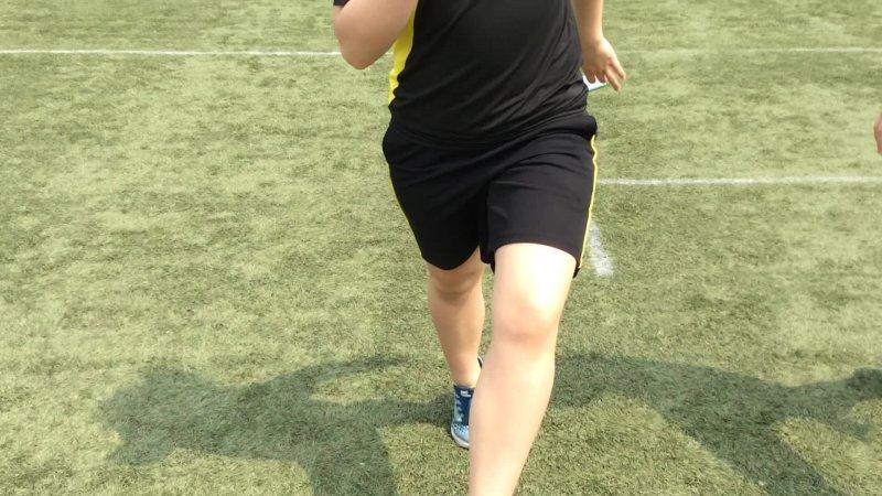 Sprint Drill - Walk On Toes
