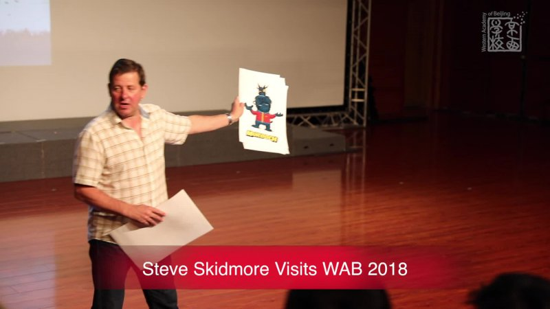 Steve Skidmore Visits WAB 2018_Sep 17, 2018