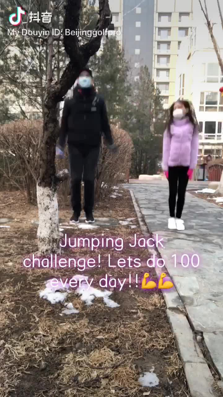 Jumping Jack Challenge Day 1 Part 2!!!