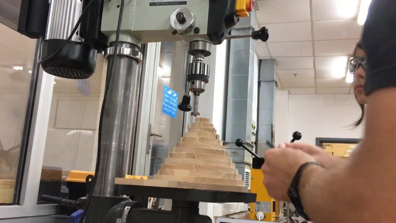 Drilling the Cone
