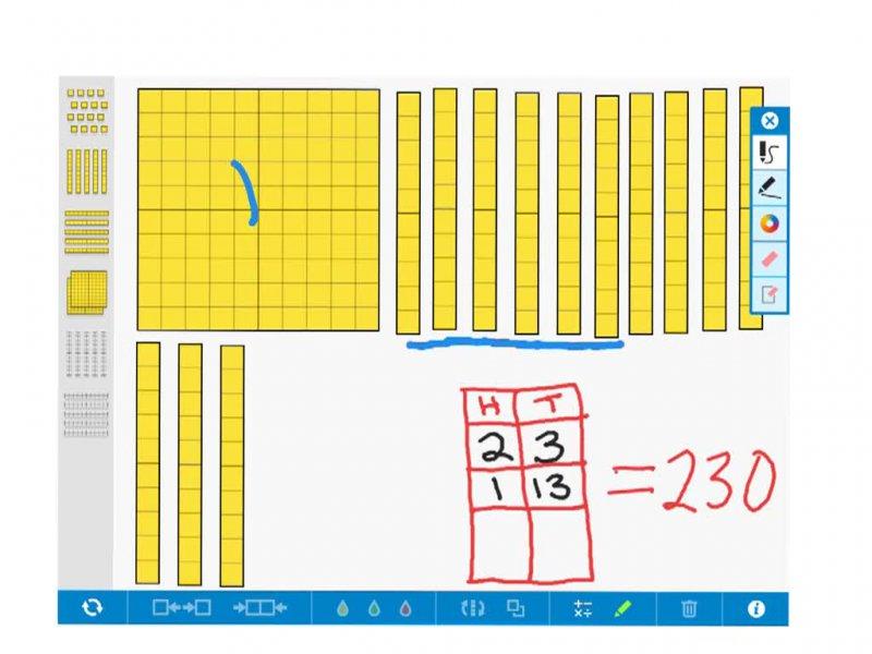 Base 10 Explained Using Base 10 Blocks