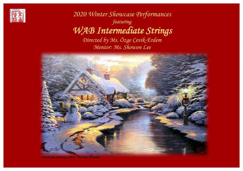 WAB Winter Showcase- Intermediate Strings
