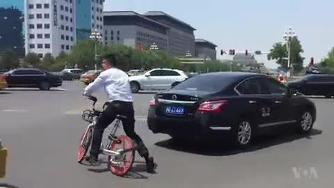 Bike sharing in Beijing