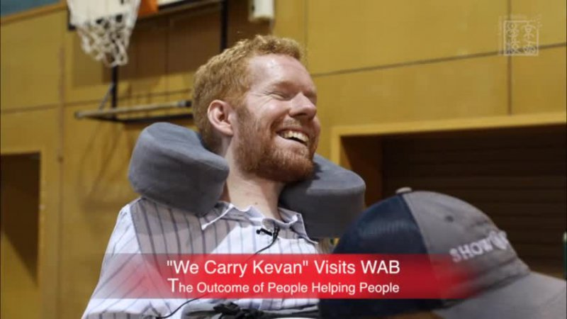 """""""We Carry Kevan"""" Visits WAB"""