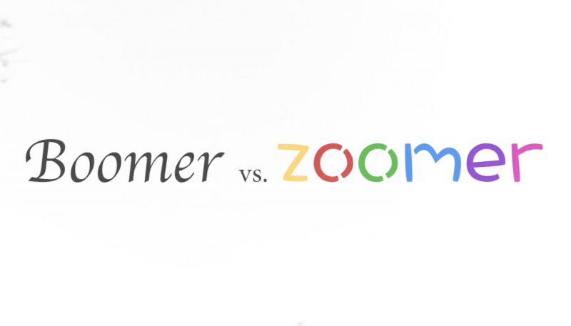 Silent Film 'Boomer vs. Zoomer' [Debra, Cindy, Zimu, Olav]