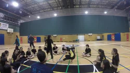 Grade 7 Capoeira Highlights from GoPro - Week 3
