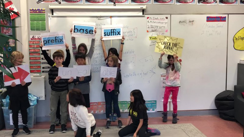 Acting Out Word Sums II - 4