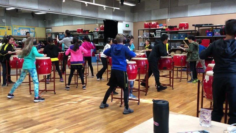 5B Drumming 2