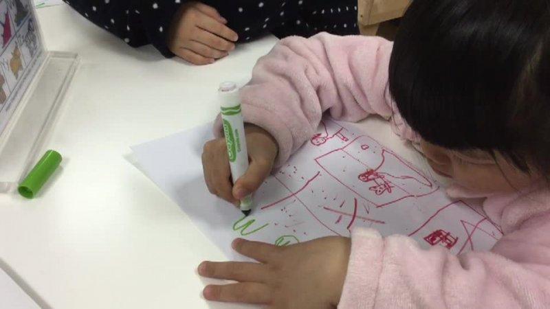 Making a poster - Anya