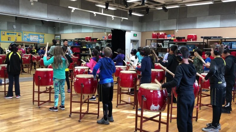 5B Drumming 3