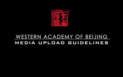 Media Upload Guidelines