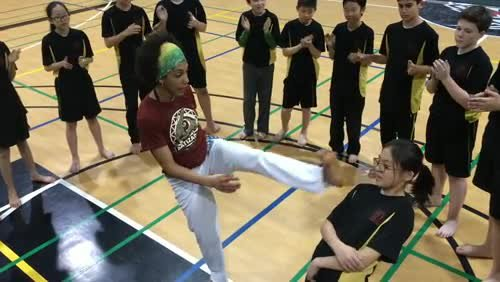 Grade 7 Capoeira Highlights - Week 2