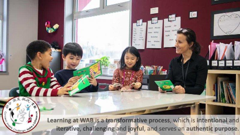 WAB Definition of Learning Slideshow