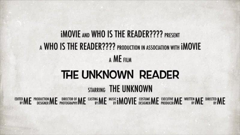 The Unknown Reader