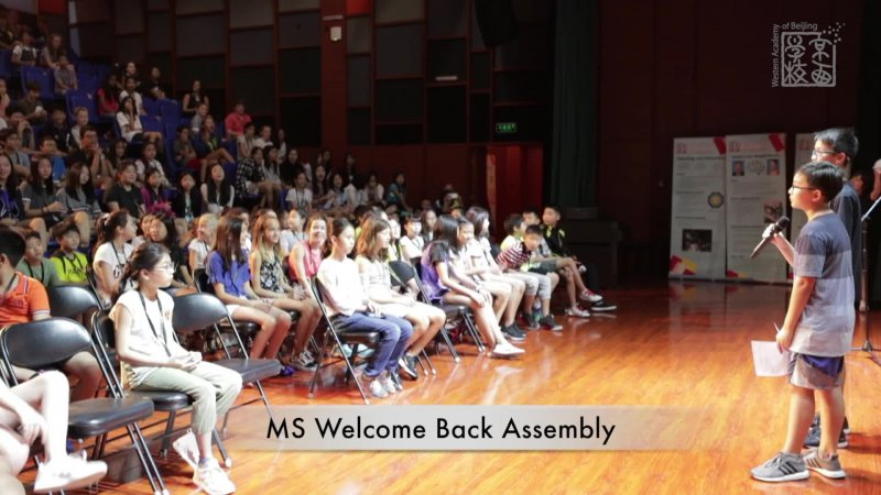 MS Welcome Back Assembly_Aug 2018