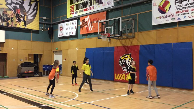 G7-1 Basketball (e) Ray, Pierre, Eloise  vs Angelina, Sophie and Oliver