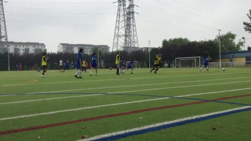 U14 Girls Football vs ISB - Game 2