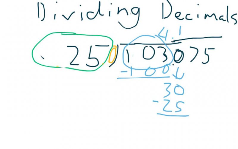 Confirmation of Learning (Dividing Decimals) by Ethan