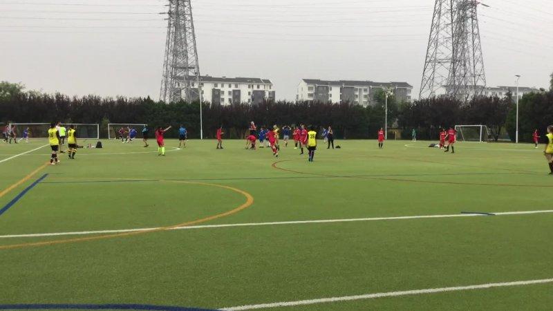 U14 Girls football vs DCB-