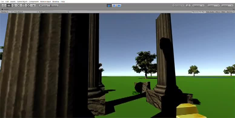 My Unity game from Summer 2019
