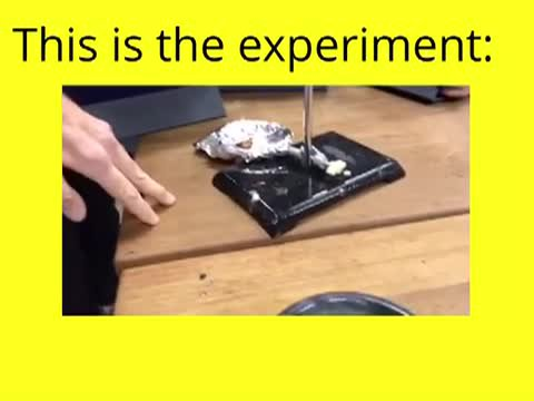 Suger cube experiment