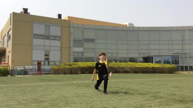 PHE sprint arm action